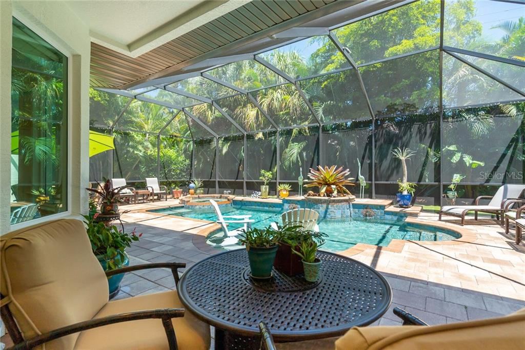 Shade for sitting area and sun on the pool. - Single Family Home for sale at 1907 Clematis St, Sarasota, FL 34239 - MLS Number is A4474600