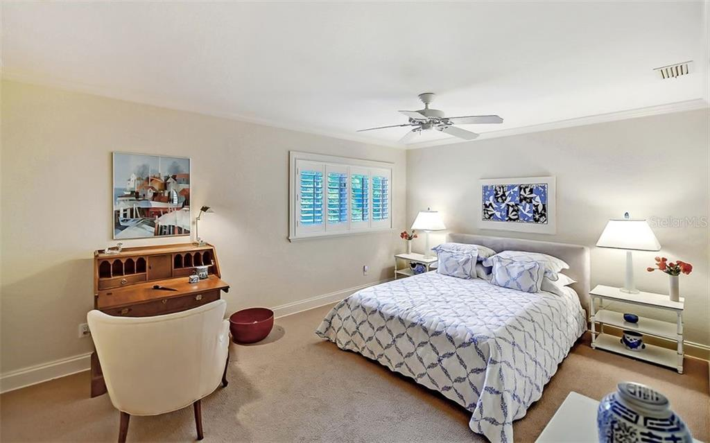 Bedroom 3 - Single Family Home for sale at 1589 Gulfview Dr, Sarasota, FL 34236 - MLS Number is A4476264