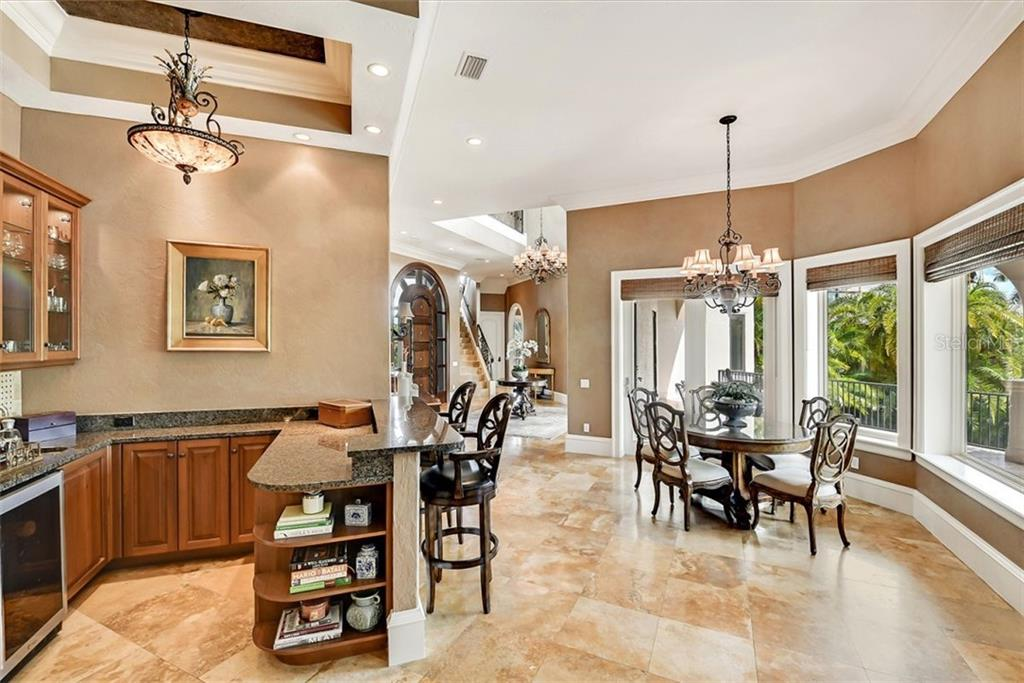 Dining Room - Single Family Home for sale at 1373 Harbor Dr, Sarasota, FL 34239 - MLS Number is A4477187