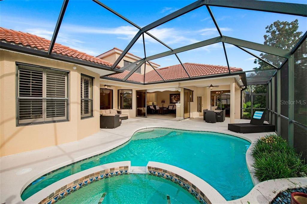 Hot Tub view - Single Family Home for sale at 684 Crane Prairie Way, Osprey, FL 34229 - MLS Number is A4478575