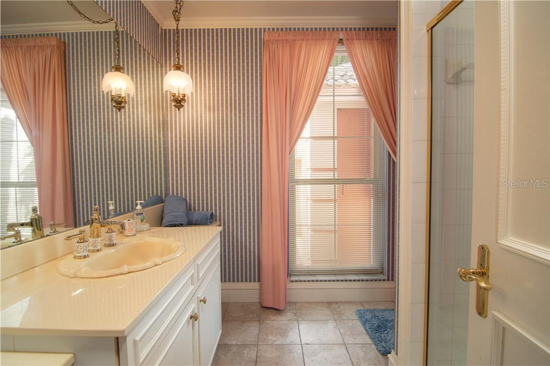Bathroom two. - Single Family Home for sale at Address Withheld, Sarasota, FL 34242 - MLS Number is A4483403