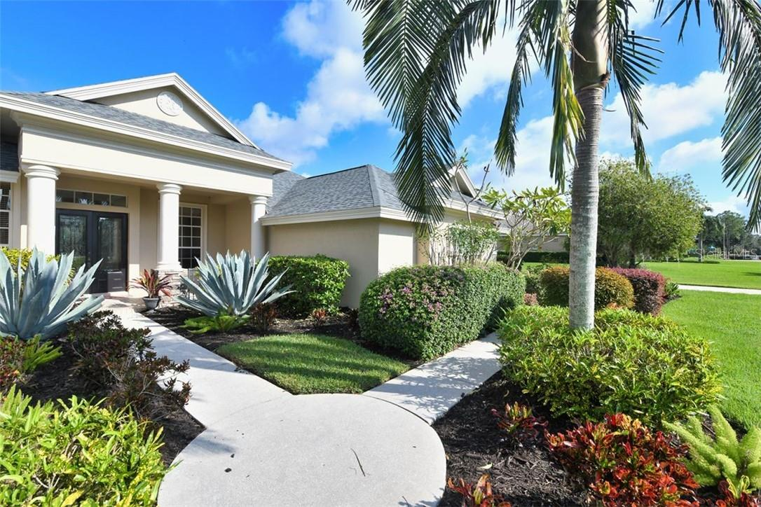 Interesting path leads to your front door - Single Family Home for sale at 7832 Panther Ridge Trl, Bradenton, FL 34202 - MLS Number is A4483837