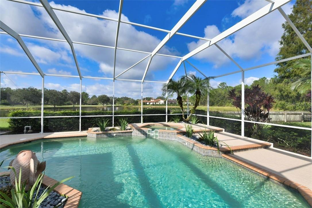 Pond views - very private - Single Family Home for sale at 7832 Panther Ridge Trl, Bradenton, FL 34202 - MLS Number is A4483837