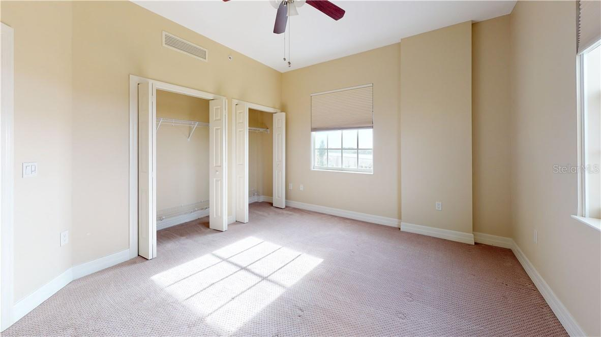 Third bedroom dual closets - Condo for sale at 5591 Cannes Cir #506, Sarasota, FL 34231 - MLS Number is A4484243