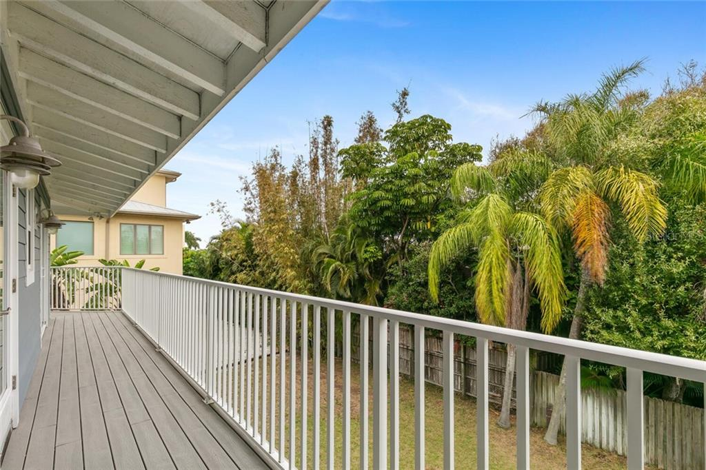 Wrap around balcony for access to your backyard. - Single Family Home for sale at 1145 Horizon View Dr, Sarasota, FL 34242 - MLS Number is A4486759