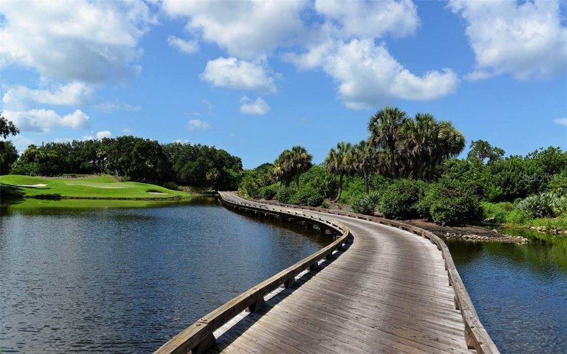 Come play golf on this beautiful and challenging course! - Condo for sale at 409 N Point Rd #402, Osprey, FL 34229 - MLS Number is A4491620