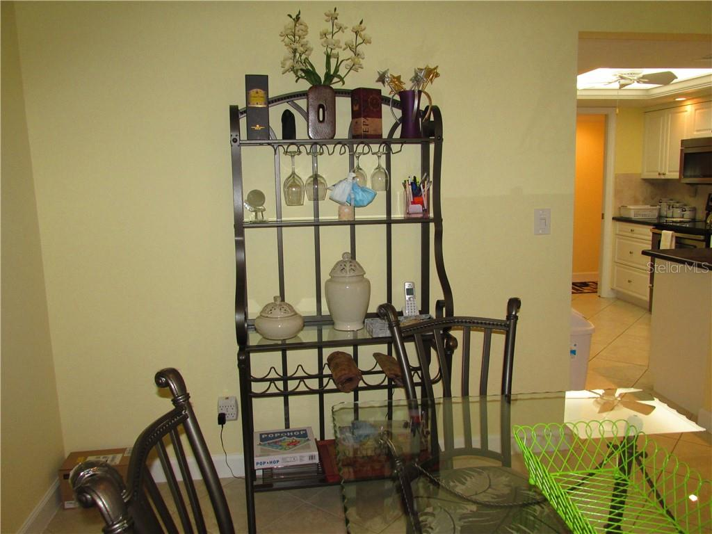 DINING AREA /KITCHEN - Condo for sale at 1087 W Peppertree Dr #221d, Sarasota, FL 34242 - MLS Number is A4493593