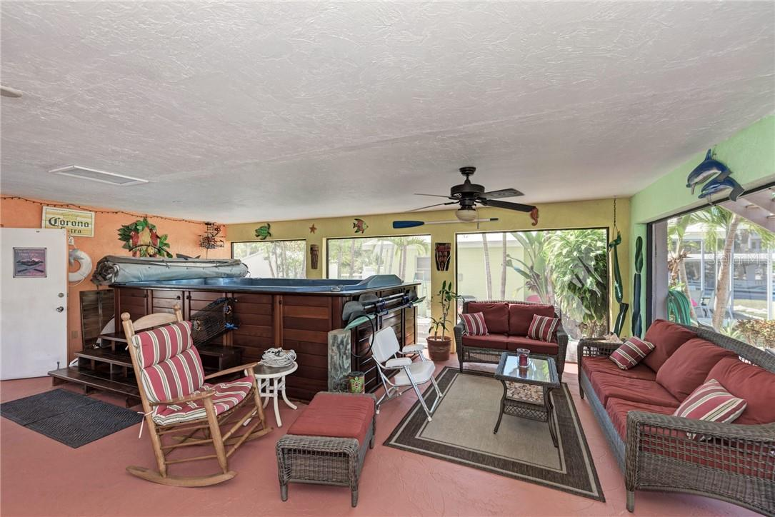 14ft Swim Spa - Single Family Home for sale at 160 Mockingbird Ln, Englewood, FL 34223 - MLS Number is A4494525