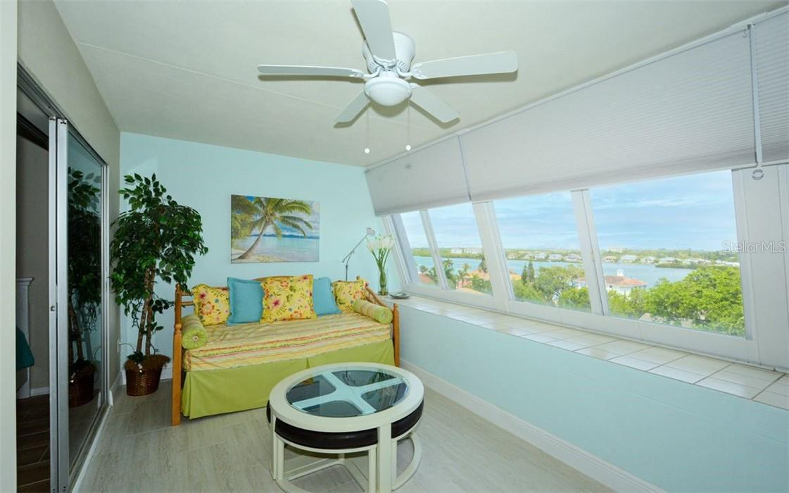 Lanai and view from the Penthouse - Condo for sale at 1200 E Peppertree Ln #602, Sarasota, FL 34242 - MLS Number is A4495963