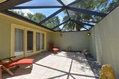 Screened entry lanai - Single Family Home for sale at 6701 Avenue B, Sarasota, FL 34231 - MLS Number is A4171657