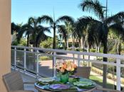 Balcony View - Condo for sale at 1300 Benjamin Franklin Dr #303, Sarasota, FL 34236 - MLS Number is A4181200