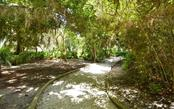 One of several shady paths linking sections & amenities - Condo for sale at 104 Woodland Pl #104, Osprey, FL 34229 - MLS Number is A4190676