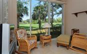 Enclosed tiled lanai adds additional square footage to this condo. Beautiful course views. - Condo for sale at 9570 High Gate Dr #1712, Sarasota, FL 34238 - MLS Number is A4196327