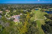 Aerial view showing golfcourse - Single Family Home for sale at 2727 Dick Wilson Dr, Sarasota, FL 34240 - MLS Number is A4200693