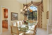 Formal dining room - Single Family Home for sale at 7300 Chameleon Way, Sarasota, FL 34241 - MLS Number is A4203429