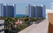 View from the balcony - Condo for sale at 1350 Main St #608, Sarasota, FL 34236 - MLS Number is A4206707