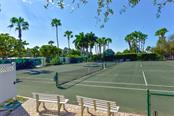 Dolphin Bay Tennis Courts - Condo for sale at 1260 Dolphin Bay Way #403, Sarasota, FL 34242 - MLS Number is A4207220