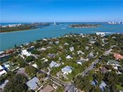 Aerial view of home and location to Big Pass - Single Family Home for sale at 141 Ogden St, Sarasota, FL 34242 - MLS Number is A4208039