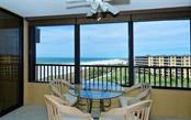 Master to the left. Lanai with Hurricane windows - Condo for sale at 5790 Midnight Pass Rd #704, Sarasota, FL 34242 - MLS Number is A4208095
