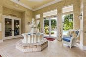 Fountain in Clubhouse - Condo for sale at 7504 Botanica Pkwy #101, Sarasota, FL 34238 - MLS Number is A4213208
