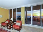 Large Living Room - Floor to Ceiling Walls of Glass - Condo for sale at 1300 Benjamin Franklin Dr #603, Sarasota, FL 34236 - MLS Number is A4213631