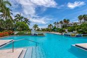 Resort-style community pool here in Tangerine Bay Club! - Condo for sale at 340 Gulf Of Mexico Dr #116, Longboat Key, FL 34228 - MLS Number is A4411000