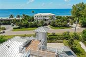 Roof top deck with elevator and stair access. - Single Family Home for sale at 3470 Gulf Of Mexico Dr, Longboat Key, FL 34228 - MLS Number is A4415298
