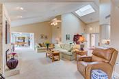 Gorgeous Living Room and Entry with Skylight - Condo for sale at 8750 Midnight Pass Rd #502c, Siesta Key, FL 34242 - MLS Number is A4416020