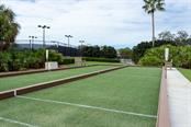 Bocce court - Condo for sale at 9620 Club South Cir #5110, Sarasota, FL 34238 - MLS Number is A4418081