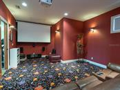 Movie Media room off of Great Room - Single Family Home for sale at 158 Puesta Del Sol, Osprey, FL 34229 - MLS Number is A4439362