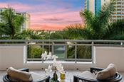 Large terrace off of main living space. - Condo for sale at 401 S Palm Ave #402, Sarasota, FL 34236 - MLS Number is A4446224