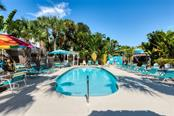 Pool and Patio - Single Family Home for sale at 523 Beach Rd, Sarasota, FL 34242 - MLS Number is A4446354