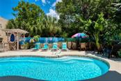 Relax at the Pool. - Single Family Home for sale at 523 Beach Rd, Sarasota, FL 34242 - MLS Number is A4446354