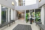 Building lobby and entry. - Condo for sale at 500 S Palm Ave #91, Sarasota, FL 34236 - MLS Number is A4454405