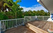 Open large side deck with Cumaru hard wood decking - Single Family Home for sale at 623 Avenida Del Norte, Sarasota, FL 34242 - MLS Number is A4454692