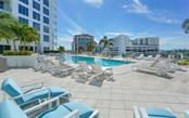 The Mark - Pool & view - Condo for sale at 111 S Pineapple Ave #1117 L-1, Sarasota, FL 34236 - MLS Number is A4461778