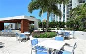 Outdoor grilling area - Condo for sale at 1155 N Gulfstream Ave #1701, Sarasota, FL 34236 - MLS Number is A4480090