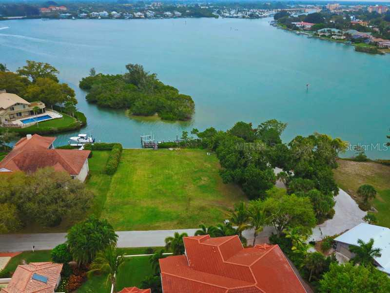 Aerial View - Vacant Land for sale at 473 Anchorage Dr, Nokomis, FL 34275 - MLS Number is N5784001