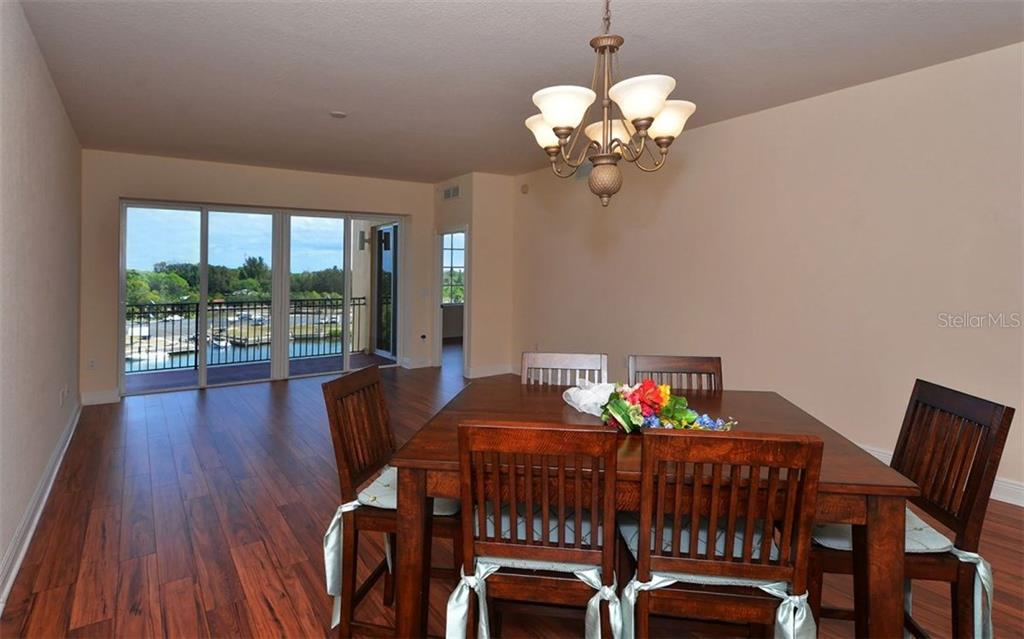 Dining Room - Condo for sale at 167 Tampa Ave E #513, Venice, FL 34285 - MLS Number is N5911190