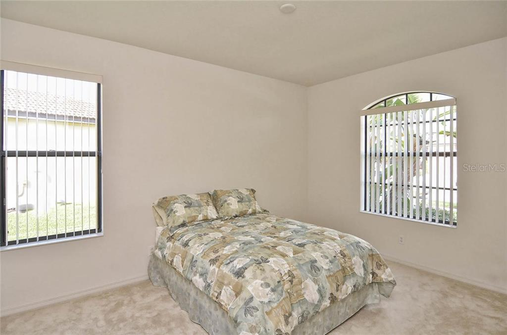 2nd bedroom - Single Family Home for sale at 1975 Batello Dr, Venice, FL 34292 - MLS Number is N5911919