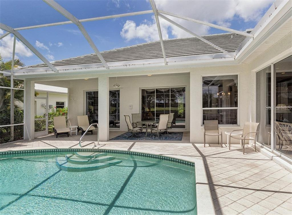 Lanai - Single Family Home for sale at 122 Ventana Way, Venice, FL 34292 - MLS Number is N5912714