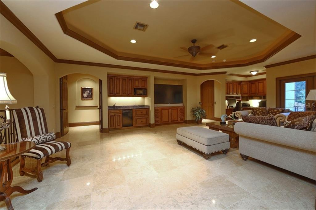 Media Room - Single Family Home for sale at 419 Bayview Pkwy, Nokomis, FL 34275 - MLS Number is N5913189