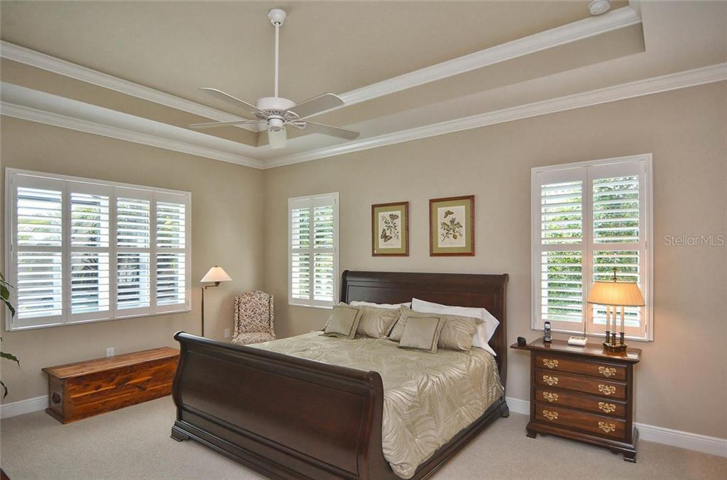 Master bedroom - Single Family Home for sale at 293 Marsh Creek Rd, Venice, FL 34292 - MLS Number is N5914238