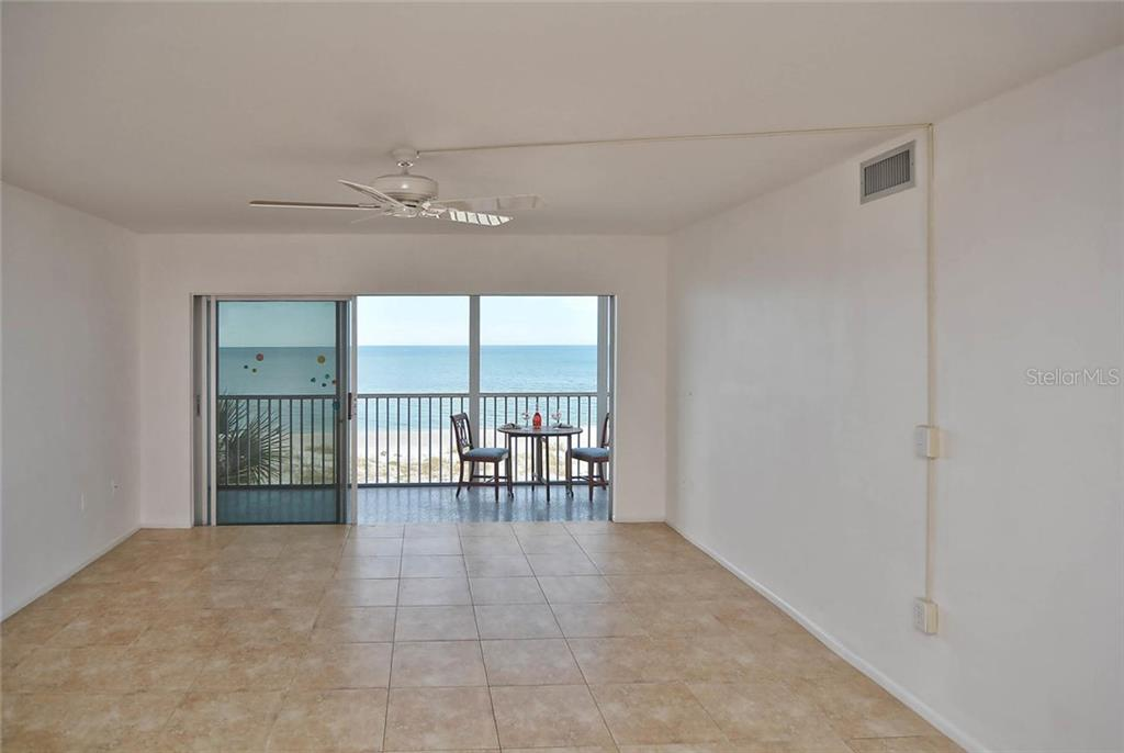 Living room to lanai - Condo for sale at 333 The Esplanade N #402, Venice, FL 34285 - MLS Number is N5914981