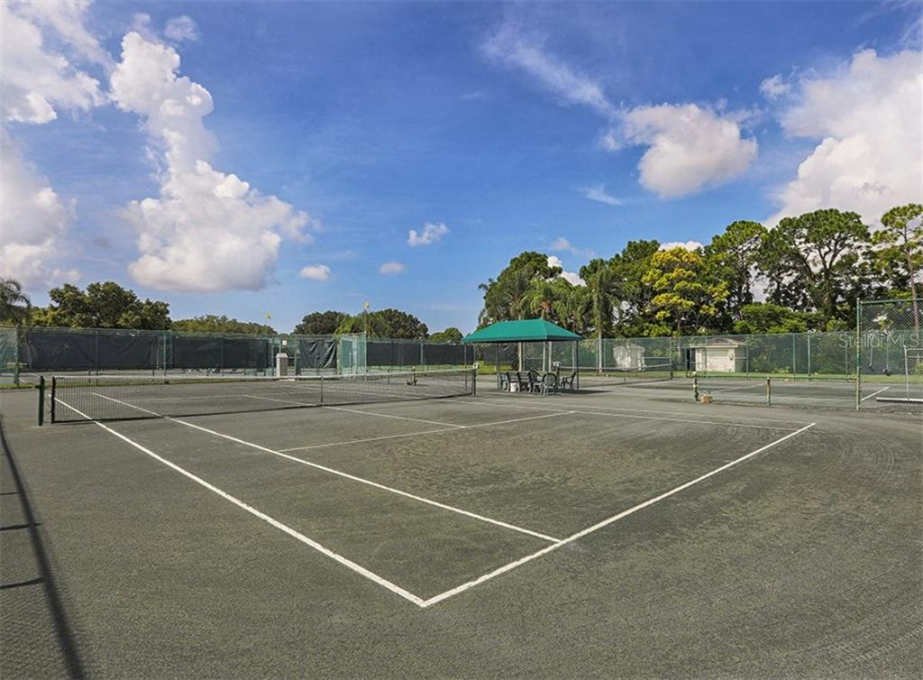 Tennis courts - Single Family Home for sale at 2196 Calusa Lakes Blvd, Nokomis, FL 34275 - MLS Number is N5915879