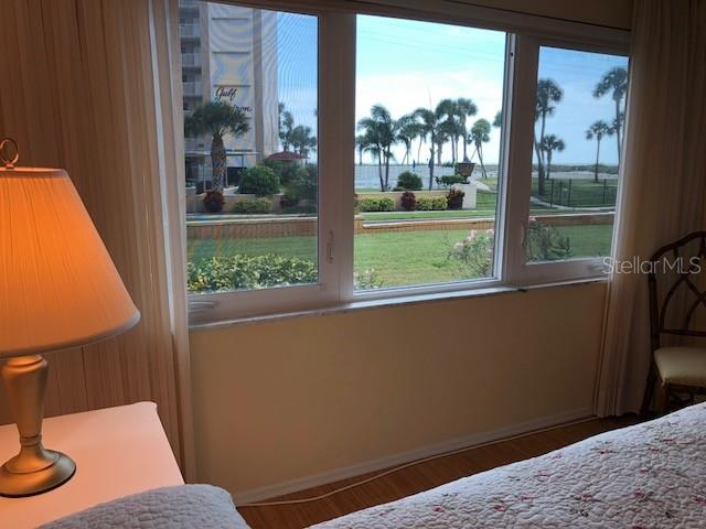 View of the beach from the Master Bedroom! - Condo for sale at 500 The Esplanade N #102, Venice, FL 34285 - MLS Number is N5915924