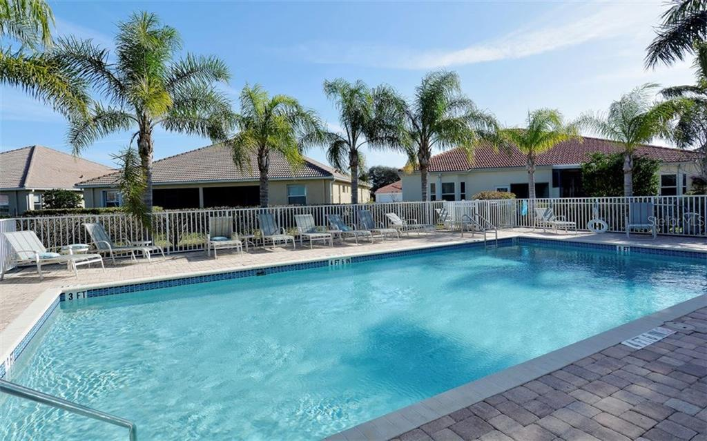 Community Pool - Villa for sale at 10889 Lerwick Cir, Englewood, FL 34223 - MLS Number is N5916198