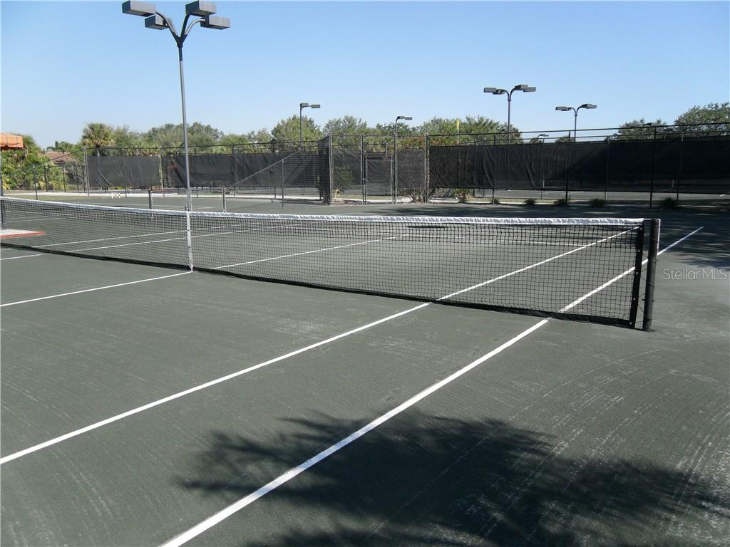 Clay Court Tennis - Villa for sale at 10731 Trophy Dr, Englewood, FL 34223 - MLS Number is N6100149