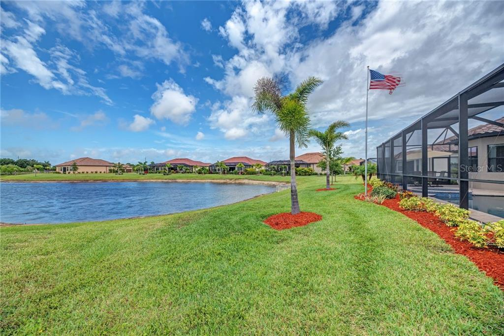 back yard - Single Family Home for sale at 20145 Cristoforo Pl, Venice, FL 34293 - MLS Number is N6100537