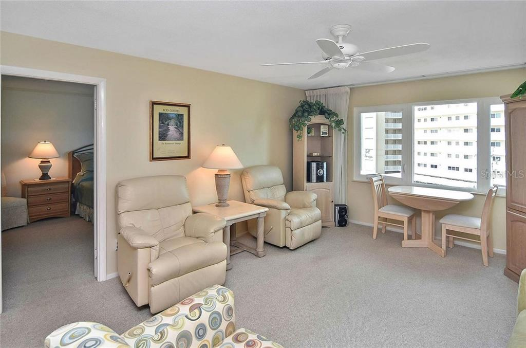 Living room to master bedroom - Condo for sale at 500 The Esplanade N #402, Venice, FL 34285 - MLS Number is N6100557